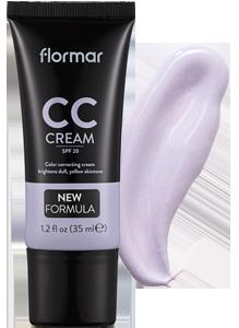Flormar podkladový CCkrém fialový